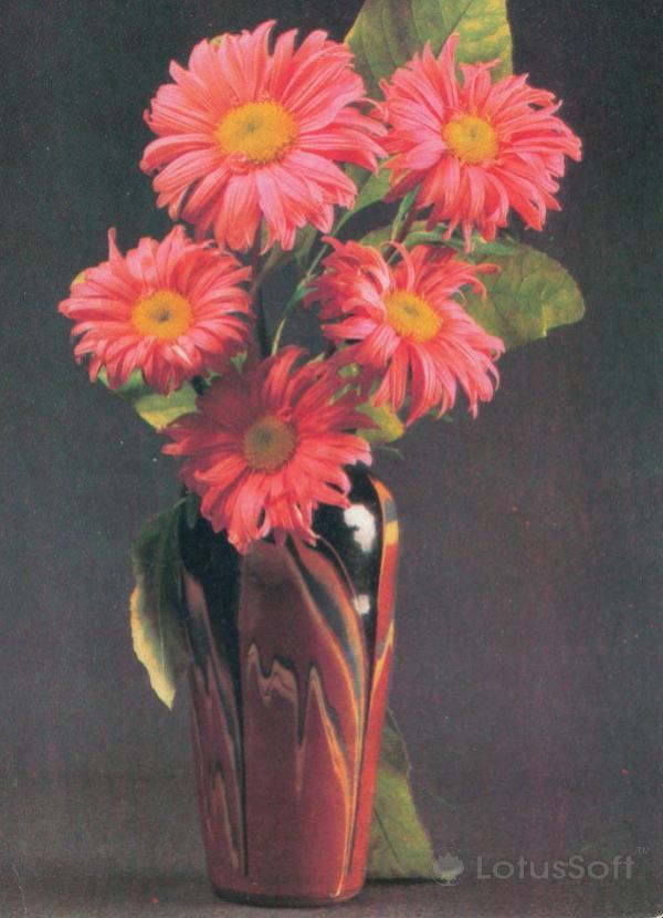 Композииция из цветов, 1984 год