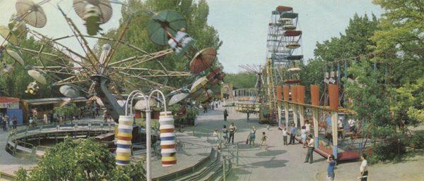 Одесса. Парк им. Т.Г. Шевченко. (1973)