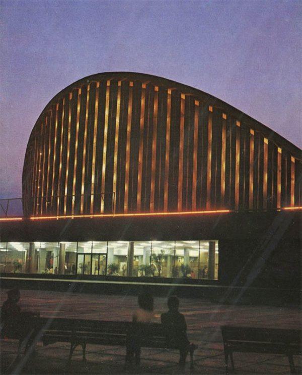 """Киноконцертный зал """"Юбилейный"""", Херсон, 1978 год"""