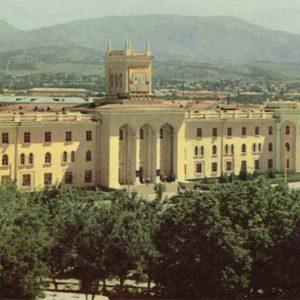 Историко-краеведческий музей, Душанбе, 1960 год