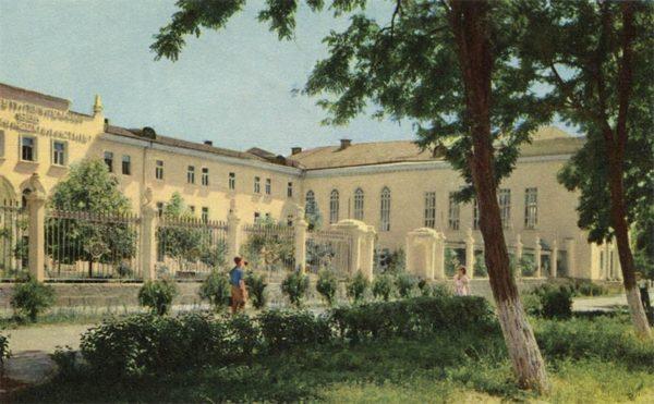 Политихнический институт, Душанбе, 1960 год