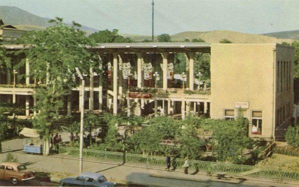 """Чайхана """"Рохат"""", Душанбе, 1960 год"""