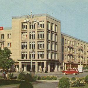 Выствочный зал Союза художников Таджикистана, Душанбе, 1960 год