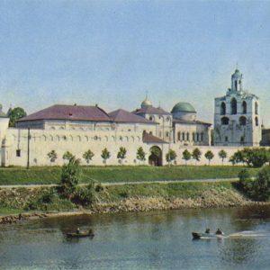 Ансамбль Спасо-Преображенского монастыря, Ярославль, 1973 год