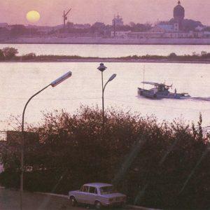 Вечер на Волге, Астрахань, 1982 год