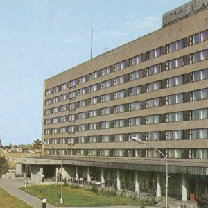"Гостиница ""Лотос"", Астрахань, 1982 год"