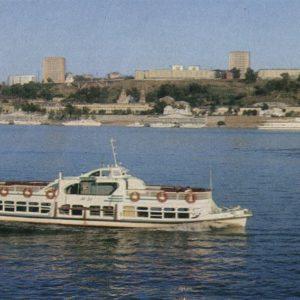 Вид на город, Горький, 1976 год