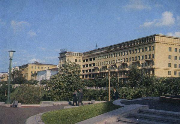 """Гостиница """"Россия"""", Горький, 1974 год"""