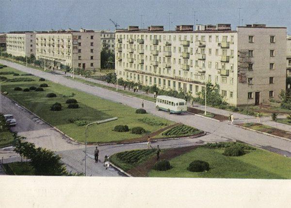 Проспект им. 50 летия ВЛКСМ, Ульяновск, 1968 год