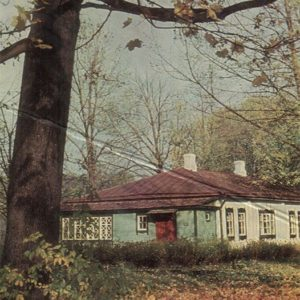 Outbuilding where he lived IS Turgenev, Spassky Lutovinovo, 1968