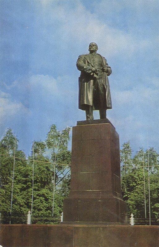 VI monument Lenin, Gomel, 1979