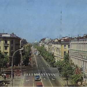 Улица Советская, Гомель, 1979 год