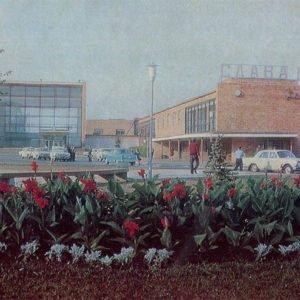 Здание вокзаза Рязань-2, Рязань, 1976 год