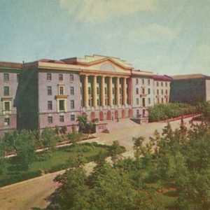 Building Suvorov Military School, Sverdlovsk, 1967