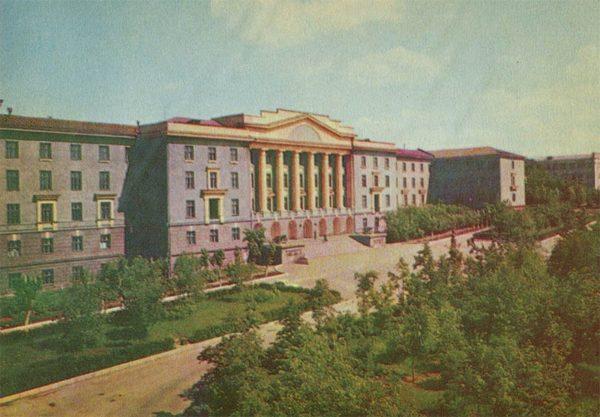 Здание Суворовского училища, Свердловск, 1967 год