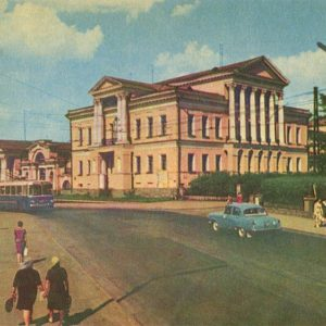 Дворец пионеров, Свердловск, 1967 год