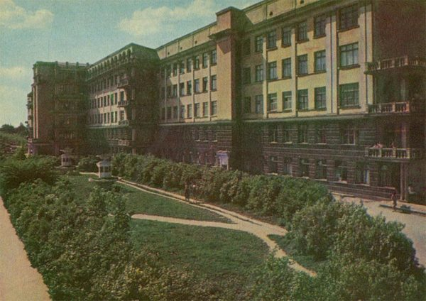 The building of the theater musical comedy, Sverdlovsk, 1967