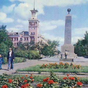 Красная площадь, Красноярск, 1978 год
