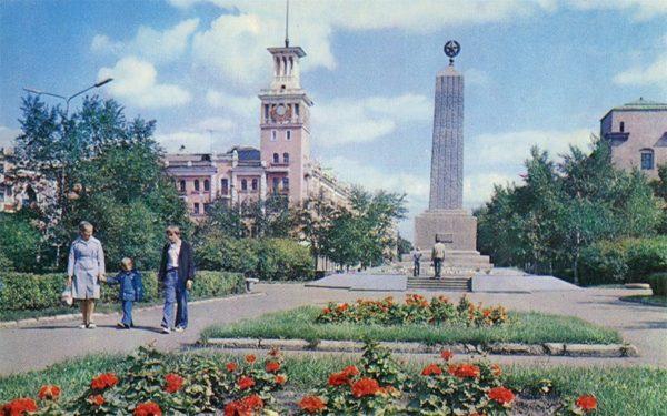 Red Square, Krasnoyarsk, 1978