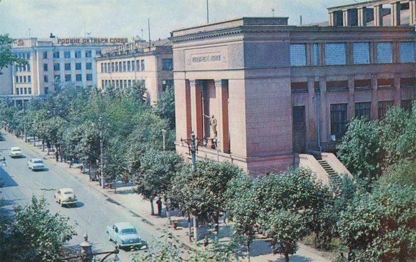 Технологический институт, Красноярск, 1978 год