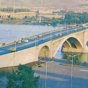 Мост через Енисей, Красноярск, 1978 год