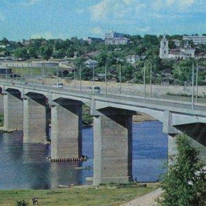 Мост через Оку, Калуга, 1973 год