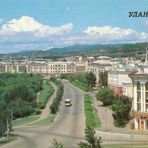 Проспект Победы, Улан-Удэ, 1988 год