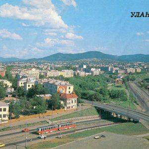 Вида на город, Улан-Удэ, 1988 год