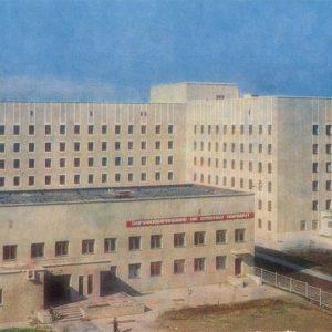 Новый больничнвй комплекс, Надым, 1987 год