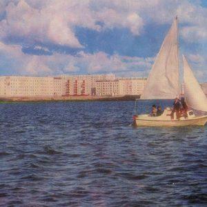 Озеро Янтарное, Надым, 1987 год