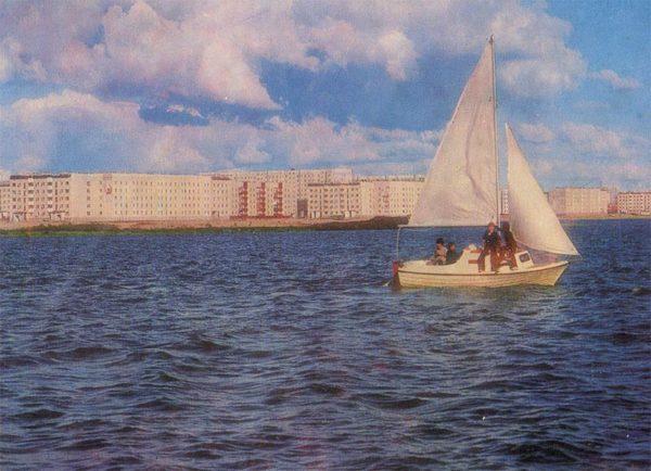 Amber Lake, Nadym, 1987