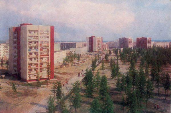 Street them. Anatoly Zverev, Nadym, 1987