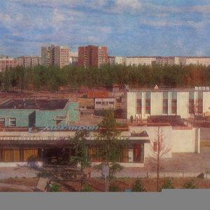 "Магазин ""Электрон"", Надым, 1987 год"