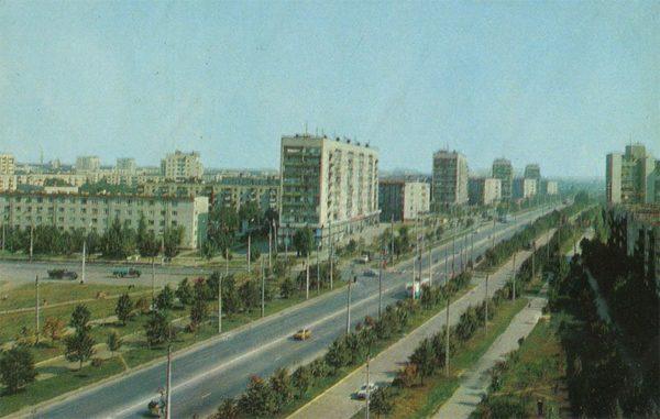 Улица Байрона, Харьков, 1977 год