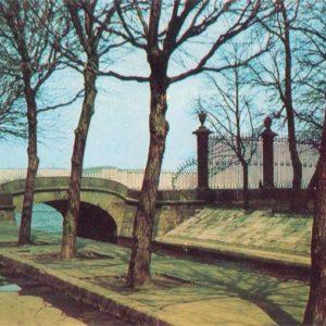Верхне-лебяжий мост, 1971 год