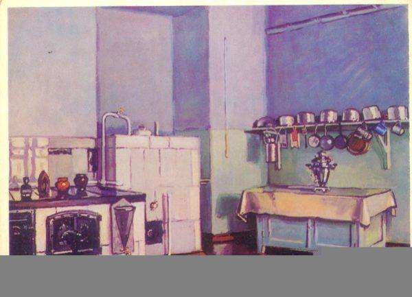 """А. Цсевич. """"Кухня В.И. Ленина"""", 1978 год"""
