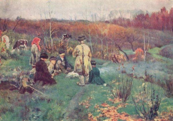 """С.А. Виноградов. """"Дети"""", 1963 год"""