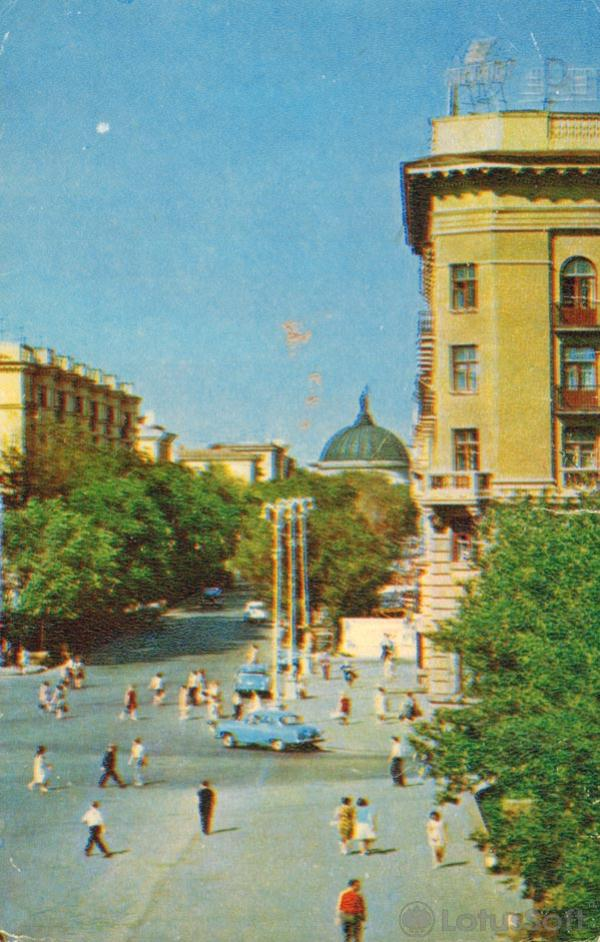 Volgograd. Street World, 1970