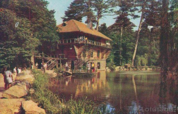 Ялта. Ресторан Лесной, 1976 год