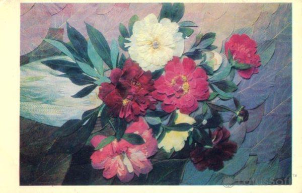 Bouquet of dry plants, 1975