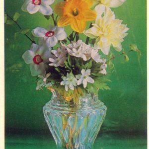 Композииция из цветов, 1978 год