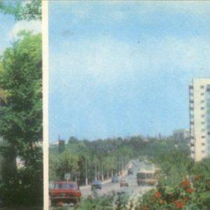 Bakhchisaray. Monument VI Lenin Novostroiki, 1984