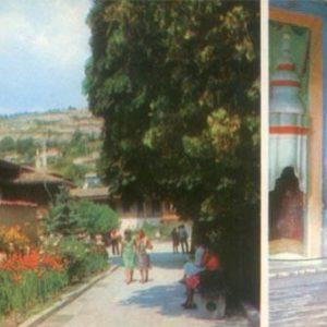 Bakhchisaray. Historical and Museum arhitektruny. Alley, Coffee komnta, 1984