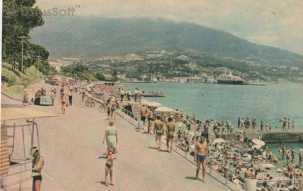 Ялта, Городской пляж, 1968 год