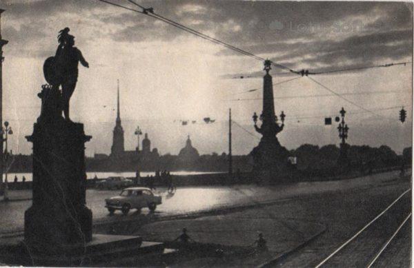 Leningrad, Monument to Alexander Suvorov, 1968