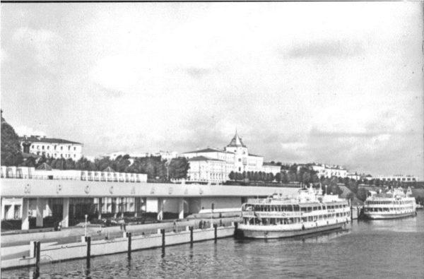 Ярославль. Речной вокзал, 1979 год