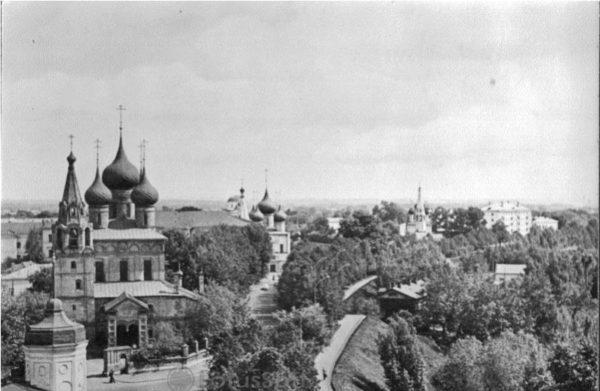 Ярославль. Церковь Богоявления XVII век, 1979 год
