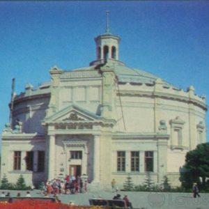 Севастополь. Панорама Оборона Севастополя 1854-55 гг, 1977 год