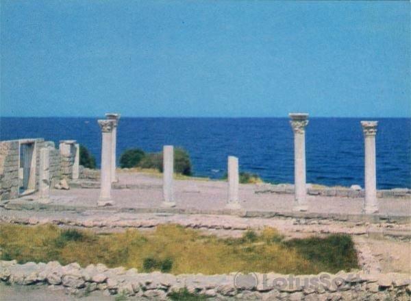 Севастополь. Средневековая базилика. VI-X век н.э, 1977 год