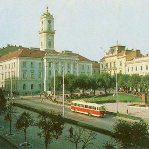 Центаральня площадь, Черновцы, 1973 год